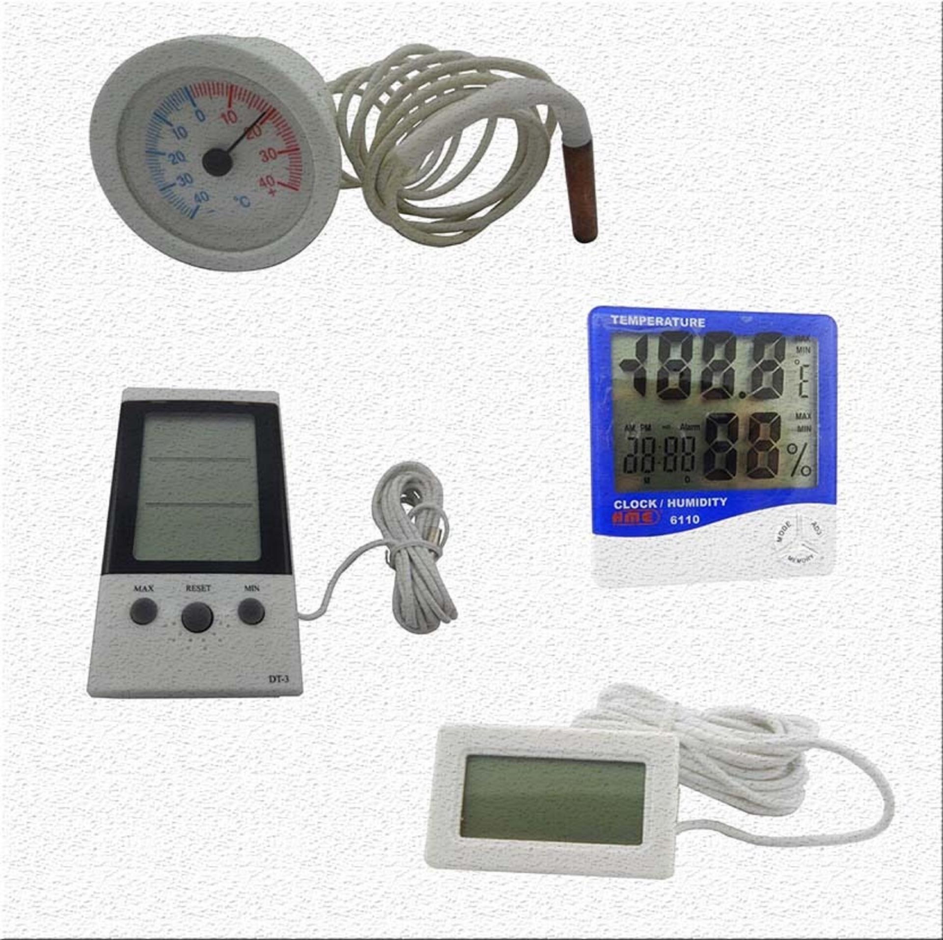 Termometre - Higrometre Çeşitleri