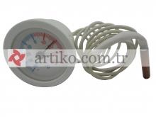Termometre İbreli Yuvarlak -40°/+40°