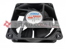 Fan Kare 120x120x38 12V