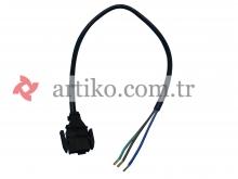 Fan Motoru 50cm Kablo