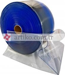 PVC Perde Şeffaf 200mmX2mmX50mt