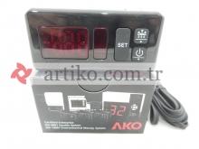 Dijital Termostat AKO D14123 Probe 1