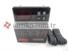 Dijital Termostat AKO D14323 0011 Probe 2