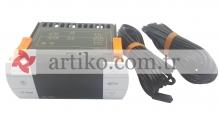 DİJİTAL TERMOSTAT EK- 3021 TEKLİ 75X34.5X85 -40 C / +99 C 220V