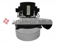 Ametek Süpürge Motoru 2 Fan eksozlu 061500005.01 1000W 230V